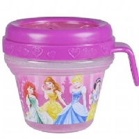 PORTA LANCHES PRINCESAS DISNEY - FIRST YEARS