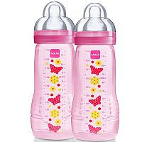 DOUBLE PACK FASHION BOTTLE GIRLS 330ML - MAM