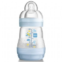 MAMADEIRA FIRST BOTTLE 160ML BOYS (LIVRE DE BPA) - MAM