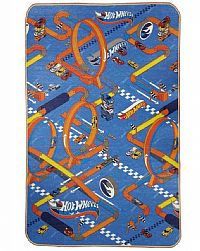 TAPETE DUPLA FACE RECREIO ENROLADO HOT WHEELS 1,80CM X 120CM - JOLITEX