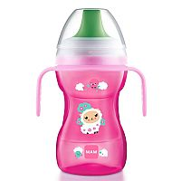 LEARN TO DRINK CUP 8M+ 270ML ROSA - MAM