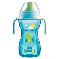 LEARN TO DRINK CUP 8M+ 270ML AZUL - MAM