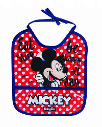 BABADOR DECORADO MICKEY - BABY GO