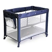 BERÇO MINI PLAY  NET BLUE - SAFETY