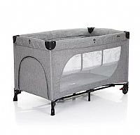 BERÇO MOONLIGHT SET WOVEN GREY - ABC DESIGN