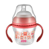 COPO DE TRANSIÇÃO FIRST MOMENTS 150ML ROSA - FISHER PRICE